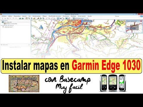 Instalar Mapas En Garmin Edge 1030 Con Basecamp De Forma Fácil -  Viajeros Fisgones