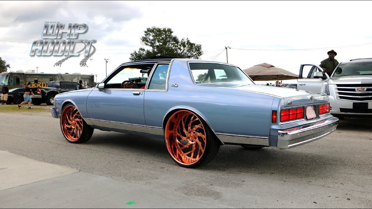 WhipAddict: Supercharged LS 86' Chevy Caprice Landau on Rose Gold Asanti 26s, Trunk Flexin'