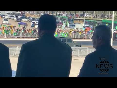 TANKE- CIATA:  Veja como foi o desfile militar em Brasília