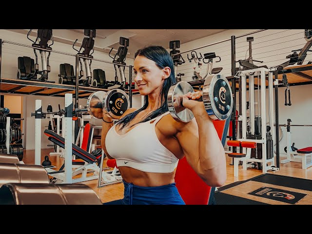 How to Shoulder Press press safely and productively | Cindy Landolt Shoulder Press Tutorial