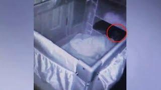 Мама хотела узнать, почему сын плачет по ночам, и видео с камер напугало даже её