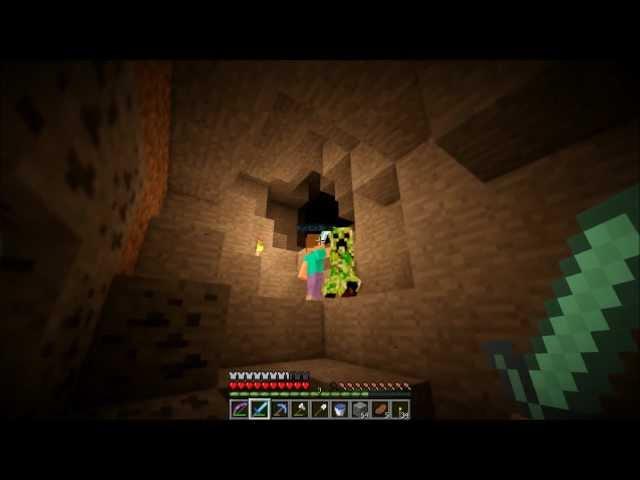 """Смотреть прохождение игры [Coop & Friends] Minecraft 1.3.1. Серия 21: """"Невезучие шахтеры."""""""