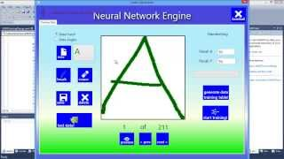 Artificial Neural Network for Handwriting Recognition in Letter Adventure Game