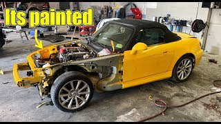 Rebuilding A Wrecked Honda S2000 Part 2
