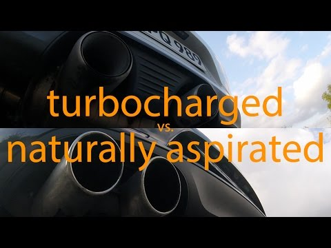 The sound of the Porsche 911 changed! Comparison between turbocharged and naturally aspirated