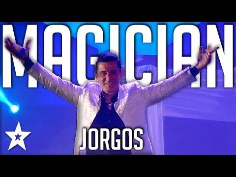 Illusionist Jorgos | All Performance |  Got Talent Greece | Magician's Got Talent