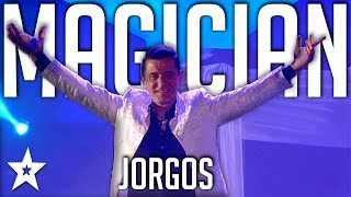 Illusionist Jorgos | All Performance |  Got Talent Greece | Magician's Got Talent