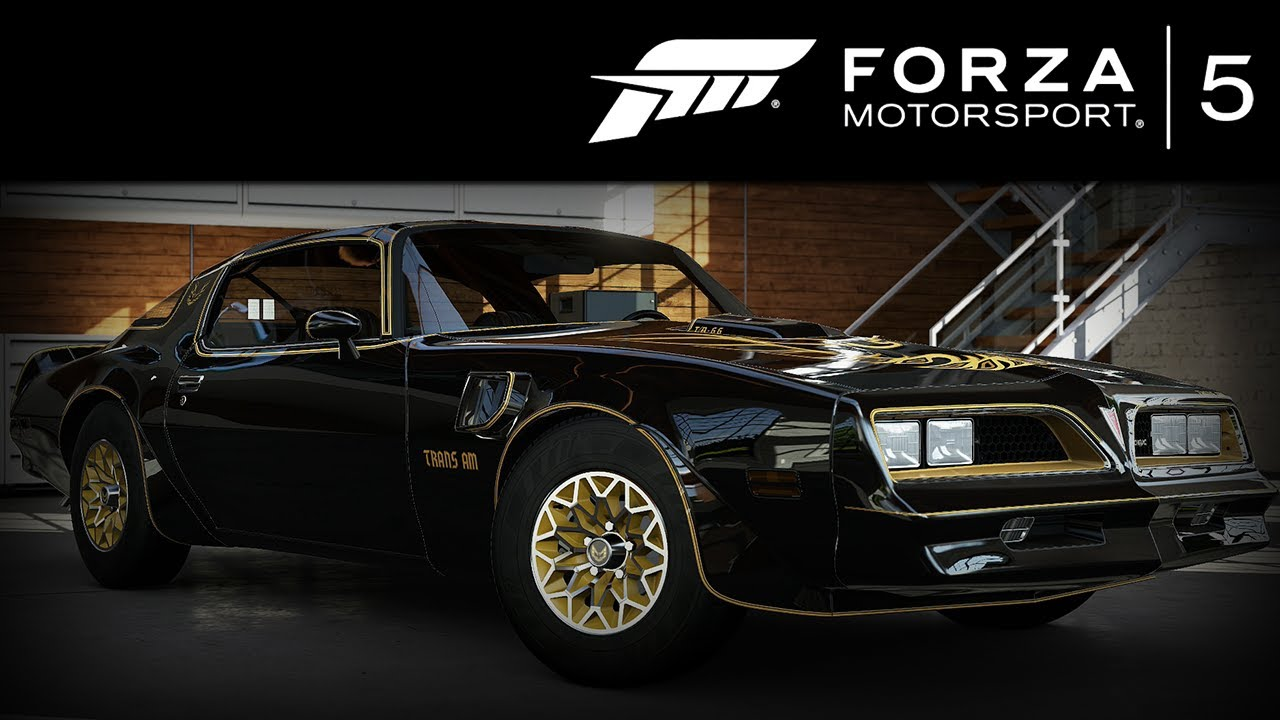 forza 5 pontiac firebird trans am 1977 forzavista 1 lap. Black Bedroom Furniture Sets. Home Design Ideas