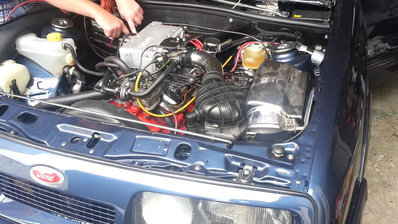 Ford Sierra Xr4i Motor Sound Youtube