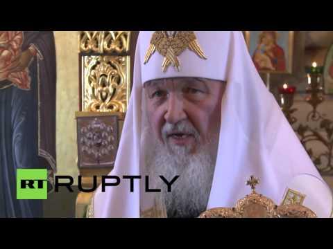 Antarctica: Patriarch Kirill hails 'spiritual energy' at Antarctic mass