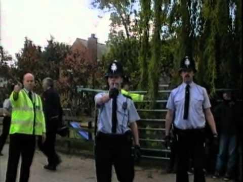 Police Use CS Gas