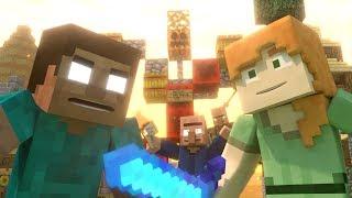 Annoying Villagers 19 - Minecraft Animation