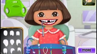Dora And Diego At The Dentist (Даша и Диего у стоматолога) - прохождение игры