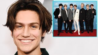 BTS and Chase Hudson Need To Do A Song Collaboration!! | Hollywire