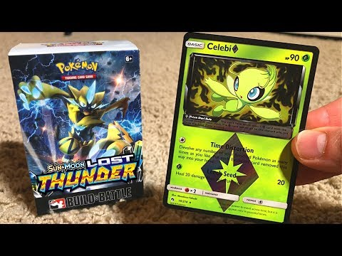 Opening Pokemon Cards LOST THUNDER PRERELEASE BOX! (Special Unboxing)