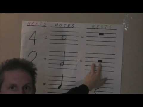 Basic Music Theory 10 (Whole Rest - Half Rest)