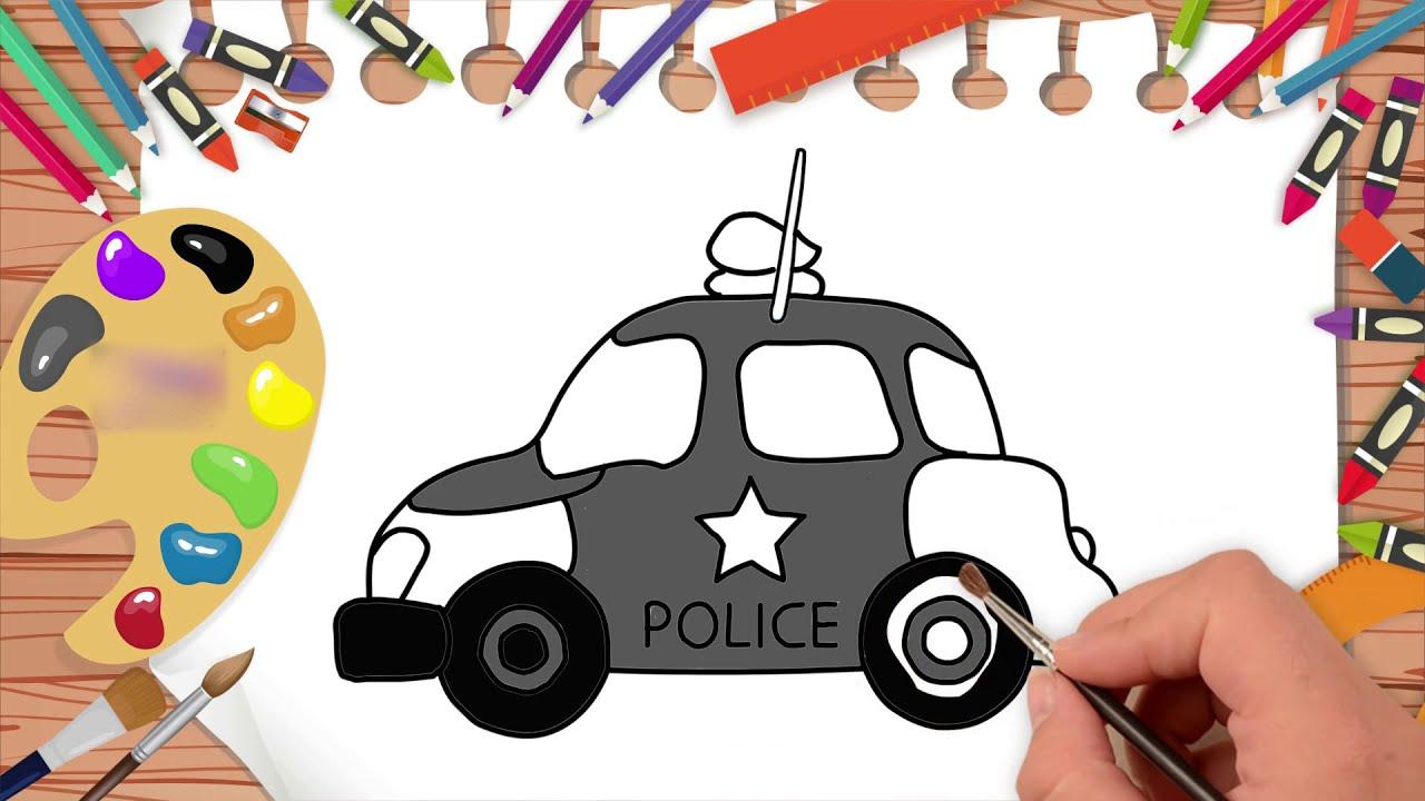 قبرة مرن مشرق رسم سيارة الشرطة Comertinsaat Com