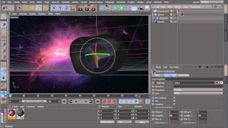 55. Видеоурок по Cinema 4d & After Effects : Создание метеорита
