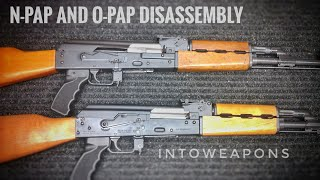Zastava N-PAP and O-PAP Disassembly:  PAP M70 Field Strip