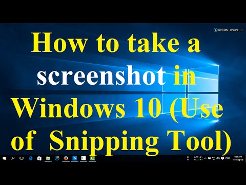 how to put snipping tool on desktop