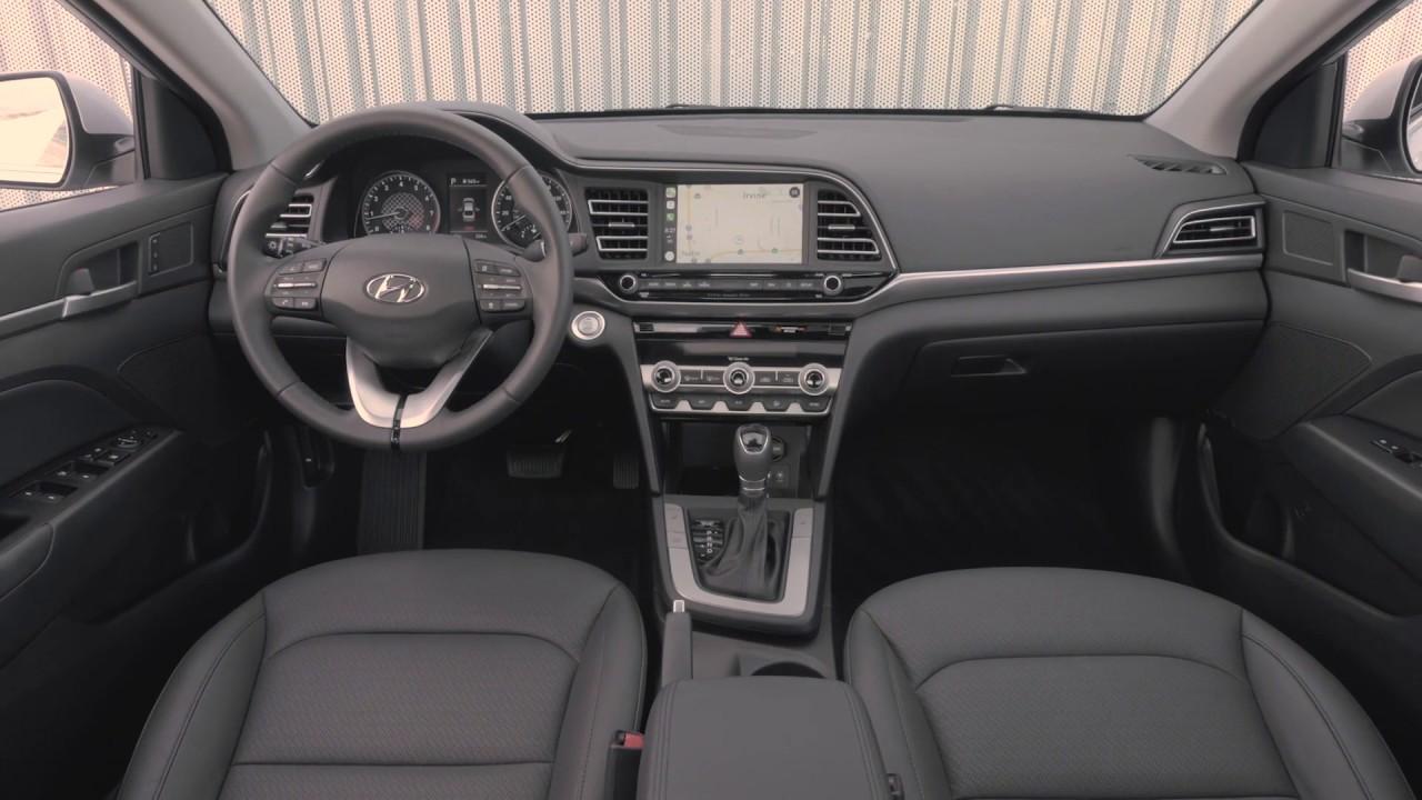 2020 Hyundai Elantra Interior Design Youtube