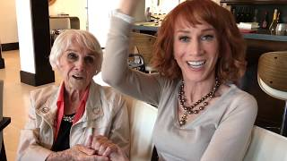 Kathy Griffin Gets Advice From Her Mother Maggie