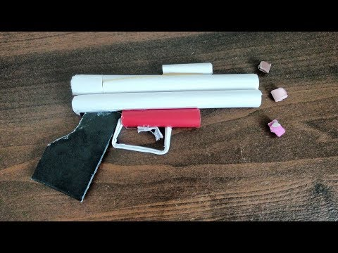 How to make paper weapons that hurt | Simple but amazing paper gun that shoots and hurts easy