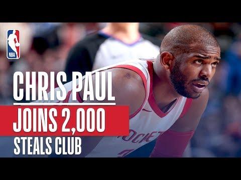 2,000 Steals Club Welcomes Chris Paul (Jordan, Stockton, Payton, & More!)