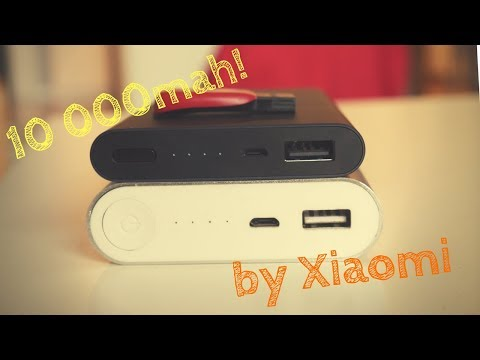 Xiaomi 10000mah SLIM power bank - the reliable power source!