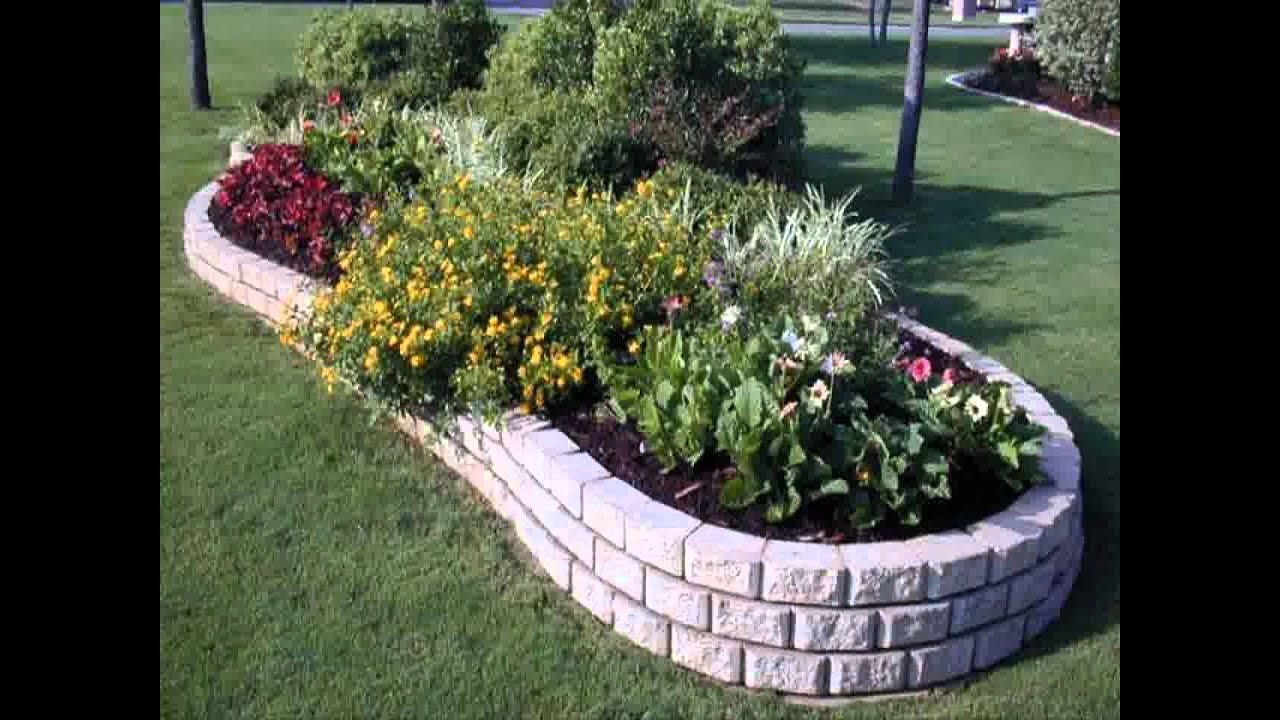 Small Home garden wall ideas - YouTube