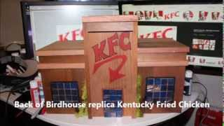 Summers Woodworking Bird House Build Entry 2013