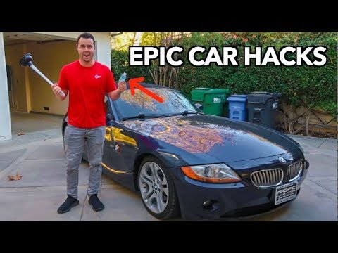 10 AWESOME CAR HACKS That Will Change Your Life