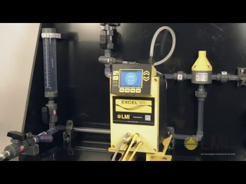 EXCEL XR METERING PUMP - Calibration (English)