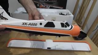 New Rc airplane - XK dhc-2 dhc 2 a600 4k unboxing