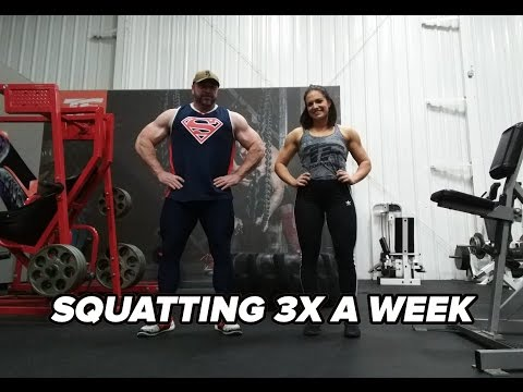 When Squatting 3 Times a Week Becomes Too Much