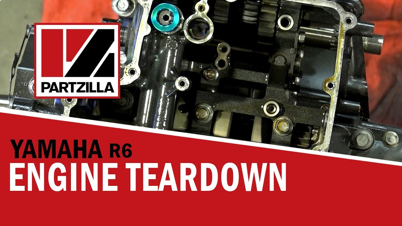 hight resolution of yamaha yzf r6 engine teardown partzilla com