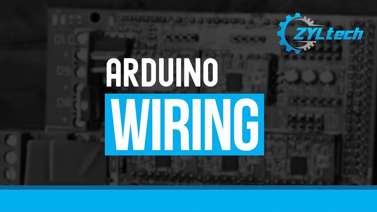ZYLtech Arduino Wiring - Ramps 1.4, Arduino Mega, motors, LCD, etc ...