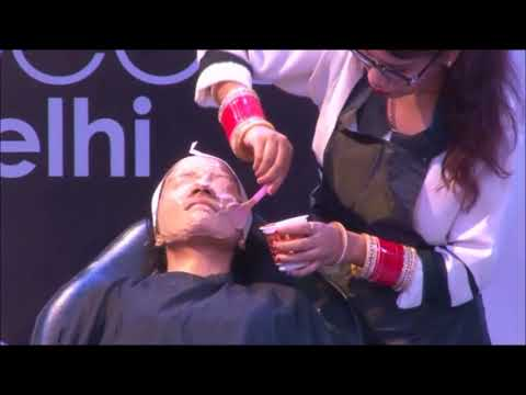 Demo Performance on Skin by Team SSCPL at Professional Beauty Delhi 2017