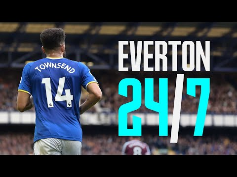 EVERTON 24/7: EP.2 ANDROS TOWNSEND | AT HOME AND BEHIND THE SCENES WITH THE BLUES!