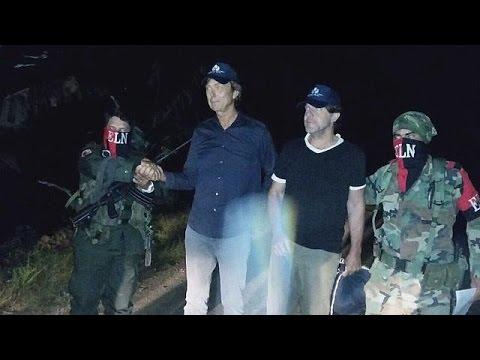 Колумбийские боевики освободили двух голландских журналистов