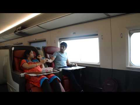 Business class on China High speed rail