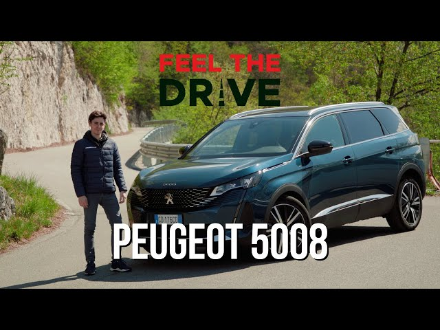 PEUGEOT 5008 2021 | #FEELTHEDRIVE sulle rive del lago di Como