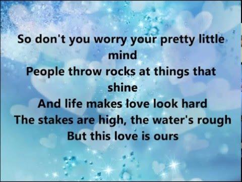 Ours- Taylor Swift (Lyrics)