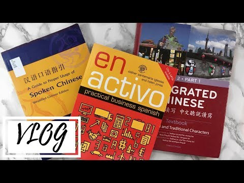 Checking Out Language Textbooks with Jona || You Never Study Alone