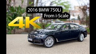 2016 BMW 750Li xDrive From i-Scale Scale 1:18