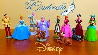 Cinderella Disney (ᵔᴥᵔ) Набор Игрушек из Мультфильма Золушка Дисней