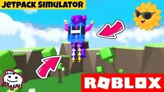 TĚŽÍME A LÍTÁME S JETPACKEM 🚀 Jetpack Simulator! ⚡ | Roblox | tNo CZ/SK