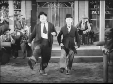 ILHAMA w/ DJ OGB - Bei mir bist du scheen (corrected aspect ratio) Laurel & Hardy music video