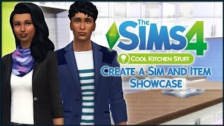 The Sims 4 Cool Kitchen Stuff - Create a Sim and Item Showcase