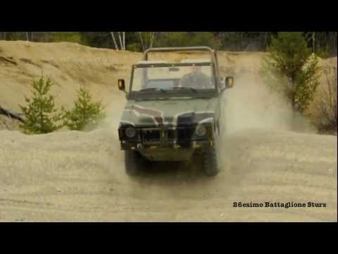 Bombardier Iltis playing in sandpit